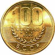 100 colones -  revers