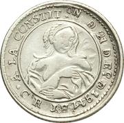 1 réal 1847 – avers