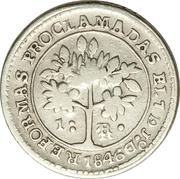 1 réal 1847 – revers