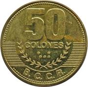 50 colones – revers
