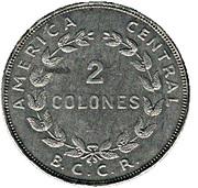 2 colones -  revers