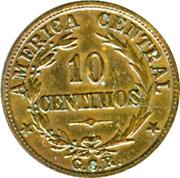 10 centimos -  revers
