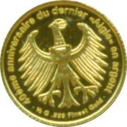 """100 Francs CFA (dernier """"aigle"""" en argent) – revers"""