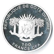 100 Francs CFA (Les Big Five : l'éléphant) – avers