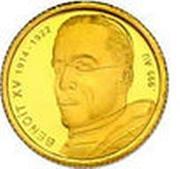 100 Francs CFA (Pape Benoît XV) – revers
