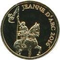 100 Francs CFA (Jeanne d'Arc) – revers