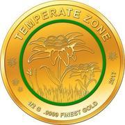 100 Francs CFA (Edelweiss) – revers