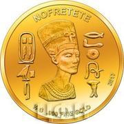 100 Francs CFA (Nefertari) – revers