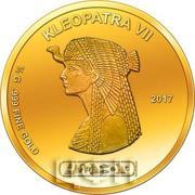 100 Francs CFA (Cleopatra) – revers