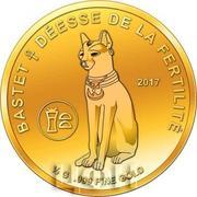 100 Francs CFA (Bastet) – revers