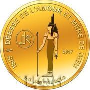 100 Francs CFA (Isis) – revers