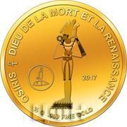 100 Francs CFA (Osiris) – revers