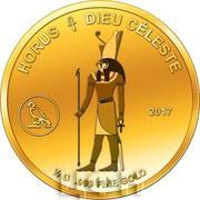 100 Francs CFA (Horus) – revers