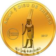 100 Francs CFA (Amun) – revers