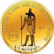 100 Francs CFA (Anubis) – revers