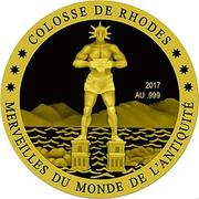 100 Francs CFA (Colossus of Rhodes) – revers