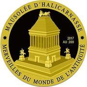 100 Francs CFA (Mausoleum of Halicarnassus) – revers