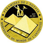 100 Francs CFA (Egyptian Pyramids) – revers