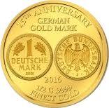 100 Francs CFA (Mark allemand en or) – revers