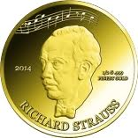 100 Francs CFA (Richard Strauss) – revers