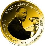 100 Francs CFA (Martin Luther King) – revers