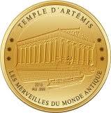 100 Francs CFA (Temple of Artemis) -  revers