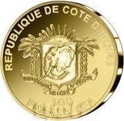 100 francs CFA Temple du Ciel – avers