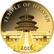 100 francs CFA Temple du Ciel – revers