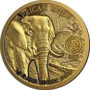 100 Francs CFA (Fierté de l'Afrique) – revers