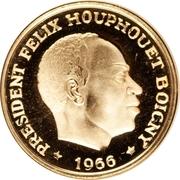 25 francs – avers