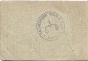 50 Pfennig (Kaufmannischer Verein) – revers