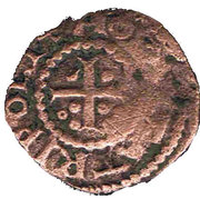 Raymond II de Tripoli Pougeoise aux Croix – revers