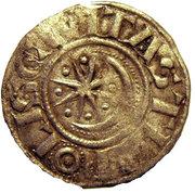 Denier à l'étoile et au croissant - Raymond II ou III – revers