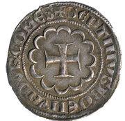 Demi-Gros Bohemond VII – revers