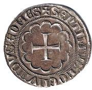 Gros Bohemond VII – revers
