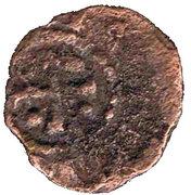 Pougeoise au Cheval Raymond II de Tripoli -  avers