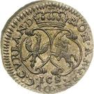 1 grossus Ernst Johann von Biron (Mitau) – revers