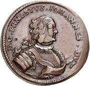 1 grossus Ernst Johann von Biron (Mitau) -  avers