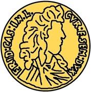 1 dukat Frédéric Casimir Kettler (Mitau) – avers