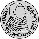 3 grossus Gotthard Kettler (Mitau) – avers