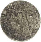 1 dukat Pierre von Biron (Mitau; essai) – avers