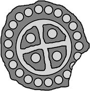 1 hohlpfennig (Piltene) – avers