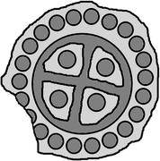 1 hohlpfennig (Piltene) – revers