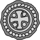 1 hohlpfennig (Memel) – avers