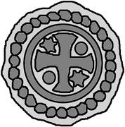 1 hohlpfennig (Memel) – revers