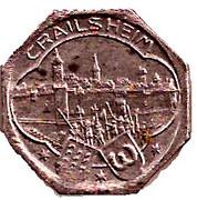 5 pfennig - Crailsheim – avers