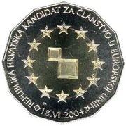 25 kuna (Entrée UE) -  avers