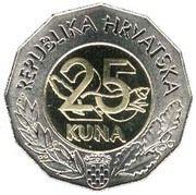 25 kuna (Entrée UE) -  revers