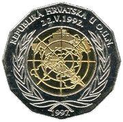 25 kuna (Nations Unies) -  avers