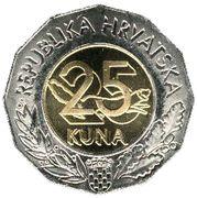 25 kuna (Nations Unies) -  revers